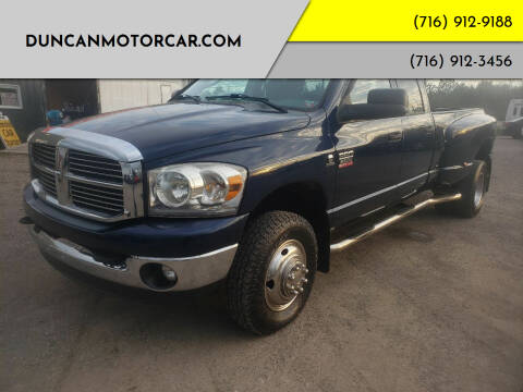 2009 Dodge Ram Pickup 3500 for sale at DuncanMotorcar.com in Buffalo NY