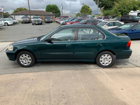 1999 Honda Civic for sale at Mike's Auto Sales of Charlotte in Charlotte NC