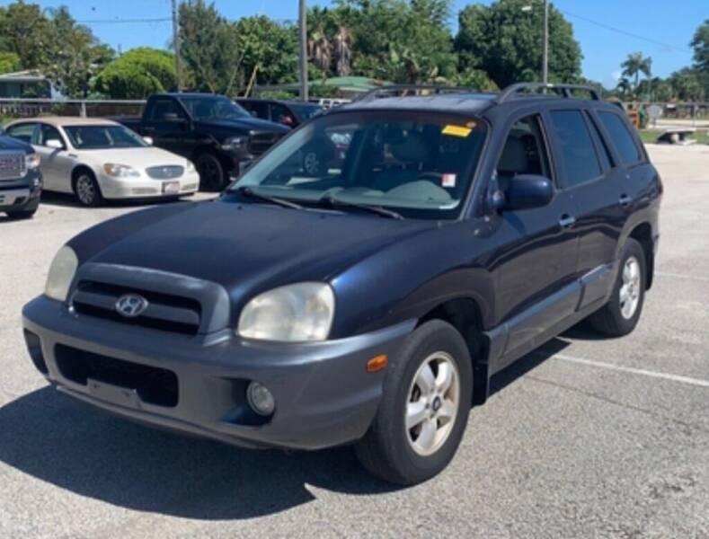 2005 Hyundai Santa Fe for sale at Cobalt Cars in Atlanta GA
