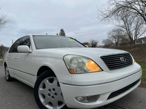 2003 Lexus LS 430 for sale at Trocci's Auto Sales in West Pittsburg PA