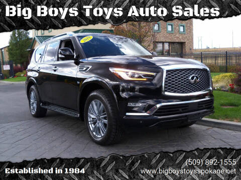 2019 Infiniti QX80 for sale at Big Boys Toys Auto Sales in Spokane Valley WA