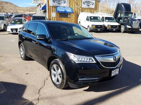 2016 Acura MDX for sale at BERKENKOTTER MOTORS in Brighton CO