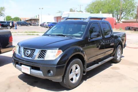 2005 Nissan Frontier for sale at KD Motors in Lubbock TX