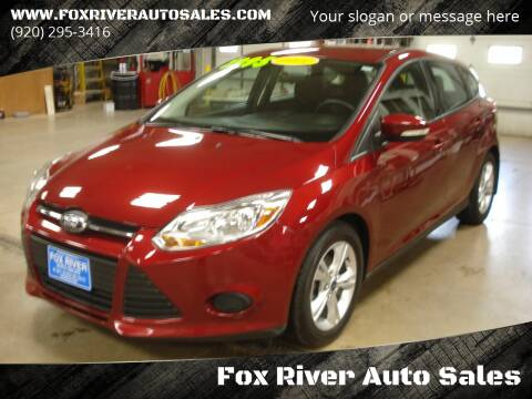 2014 Ford Focus for sale at Fox River Auto Sales in Princeton WI