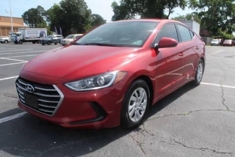 2017 Hyundai Elantra for sale at Drive Now Auto Sales in Norfolk VA
