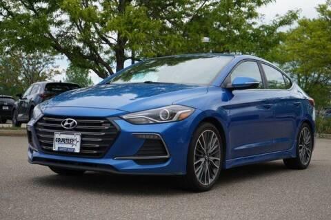 2017 Hyundai Elantra for sale at COURTESY MAZDA in Longmont CO