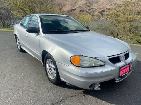 2005 Pontiac Grand Am for sale at Clarkston Auto Sales in Clarkston WA