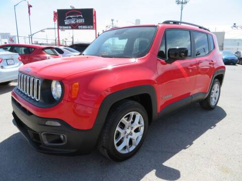 2017 Jeep Renegade for sale at Moving Rides in El Paso TX