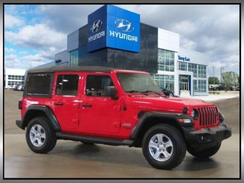 2018 Jeep Wrangler Unlimited for sale at Terry Lee Hyundai in Noblesville IN