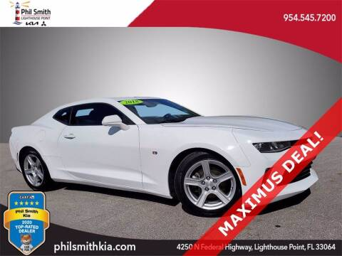 2018 Chevrolet Camaro for sale at PHIL SMITH AUTOMOTIVE GROUP - Phil Smith Kia in Lighthouse Point FL