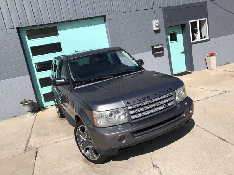 2007 Land Rover Range Rover Sport for sale at Enthusiast Autohaus in Sheridan IN