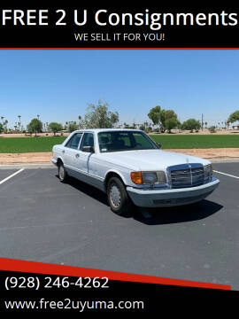 1990 Mercedes-Benz 300-Class for sale at FREE 2 U Consignments in Yuma AZ
