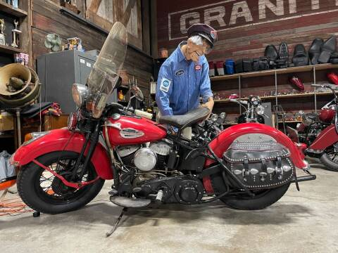 1940 Harley Davidson UL Flathead for sale at Pro Auto Sales and Service in Ortonville MN