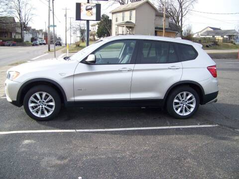 2013 BMW X3 for sale at Collector Car Co in Zanesville OH