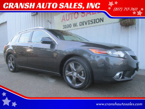 2012 Acura TSX Sport Wagon for sale at CRANSH AUTO SALES, INC in Arlington TX