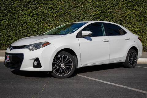 2015 Toyota Corolla for sale at 605 Auto  Inc. in Bellflower CA