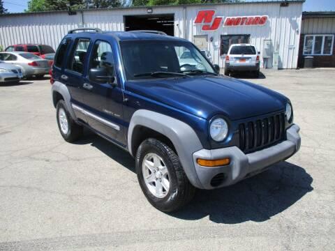2002 Jeep Liberty for sale at RJ Motors in Plano IL