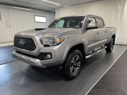 2018 Toyota Tacoma for sale at Monster Motors in Michigan Center MI