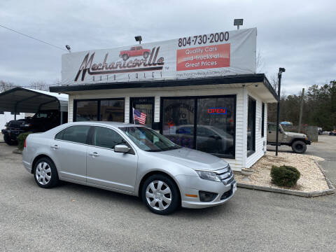 2011 Ford Fusion for sale at Mechanicsville Auto Sales in Mechanicsville VA