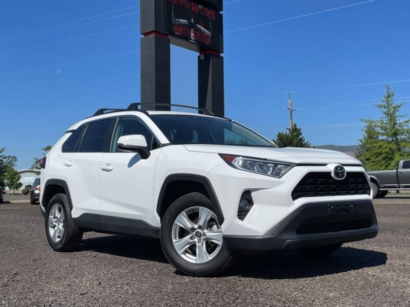 2020 Toyota RAV4 for sale at The Other Guys Auto Sales in Island City OR