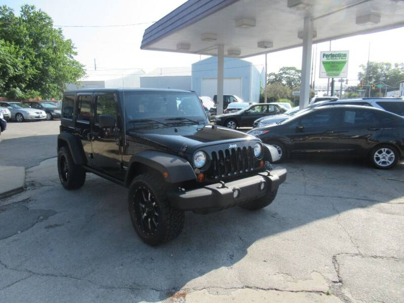 2012 Jeep Wrangler Unlimited for sale at Perfection Auto Detailing & Wheels in Bloomington IL