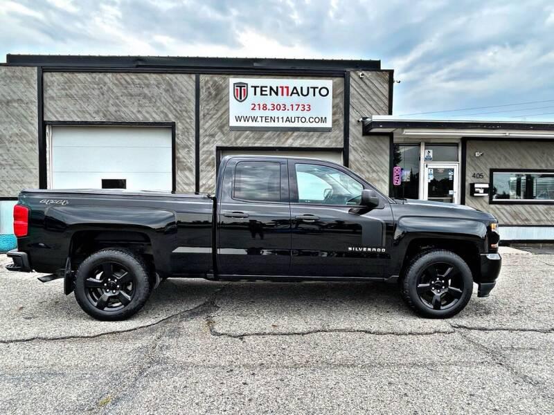 2017 Chevrolet Silverado 1500 for sale at Ten 11 Auto LLC in Dilworth MN