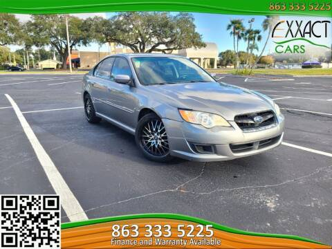 2009 Subaru Legacy for sale at Exxact Cars in Lakeland FL