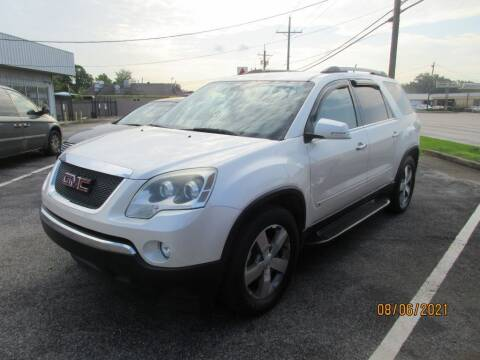 2010 GMC Acadia for sale at Spartan Auto Sales in Beaumont TX