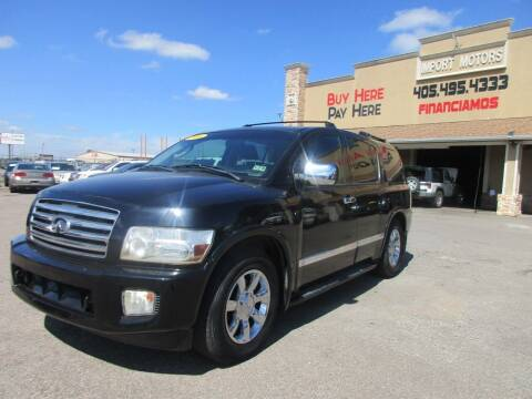 2006 Infiniti QX56 for sale at Import Motors in Bethany OK