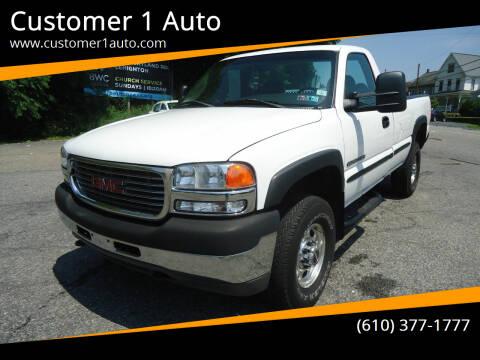 2002 GMC Sierra 2500HD for sale at Customer 1 Auto in Lehighton PA