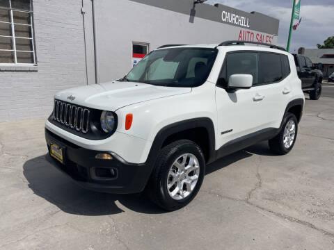 2017 Jeep Renegade for sale at CHURCHILL AUTO SALES in Fallon NV