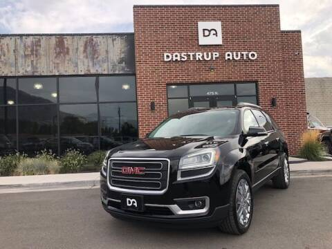 2017 GMC Acadia Limited for sale at Dastrup Auto in Lindon UT