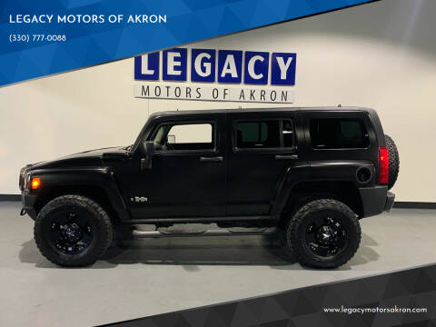 2006 HUMMER H3 for sale at LEGACY MOTORS OF AKRON in Akron OH
