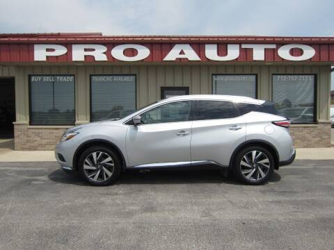 2016 Nissan Murano for sale at Pro Auto Sales in Carroll IA