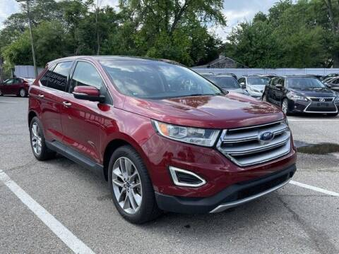 2016 Ford Edge for sale at SOUTHFIELD QUALITY CARS in Detroit MI