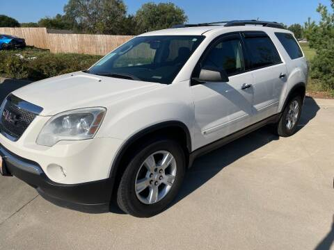 2009 GMC Acadia for sale at Azteca Auto Sales LLC in Des Moines IA