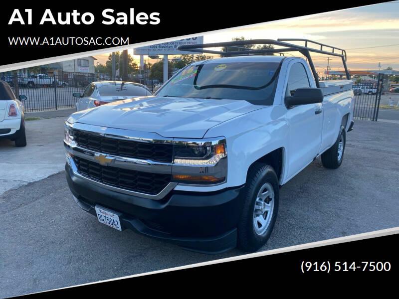 2016 Chevrolet Silverado 1500 for sale at A1 Auto Sales in Sacramento CA