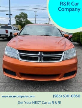 2011 Dodge Avenger for sale at R&R Car Company in Mount Clemens MI
