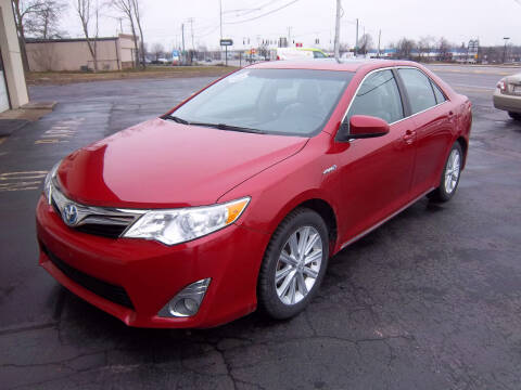 2012 Toyota Camry Hybrid for sale at Brian's Sales and Service in Rochester NY