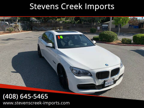 2014 BMW 7 Series for sale at Stevens Creek Imports in San Jose CA