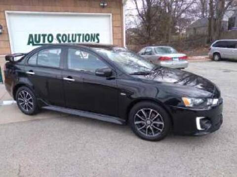 2017 Mitsubishi Lancer for sale at Auto Solutions of Rockford in Rockford IL