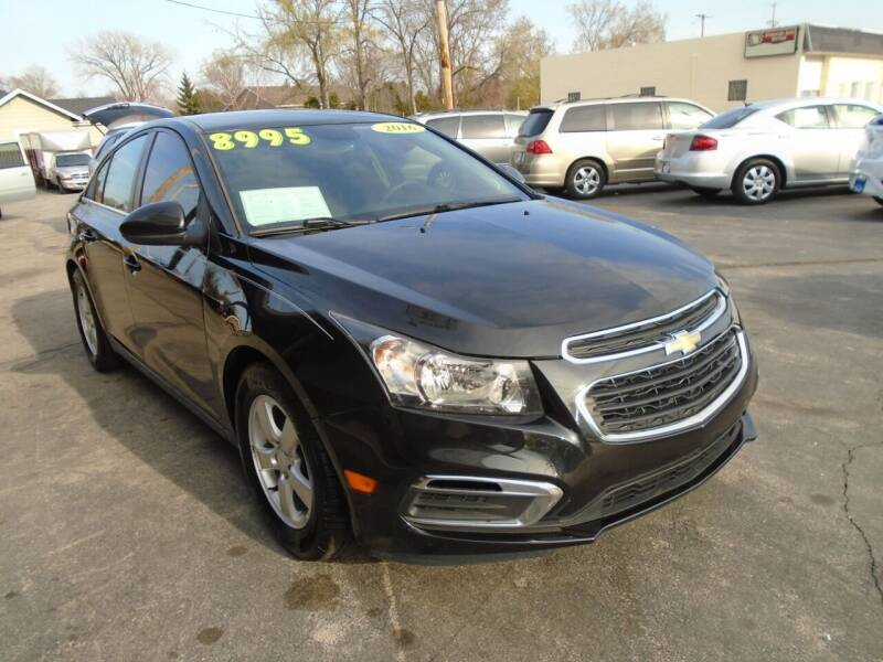 2016 Chevrolet Cruze Limited for sale at DISCOVER AUTO SALES in Racine WI