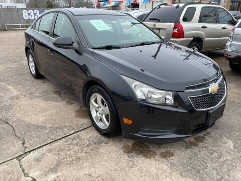 2011 Chevrolet Cruze for sale at AMERICAN AUTO COMPANY in Beaumont TX
