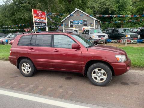 2005 Toyota Highlander for sale at Korz Auto Farm in Kansas City KS
