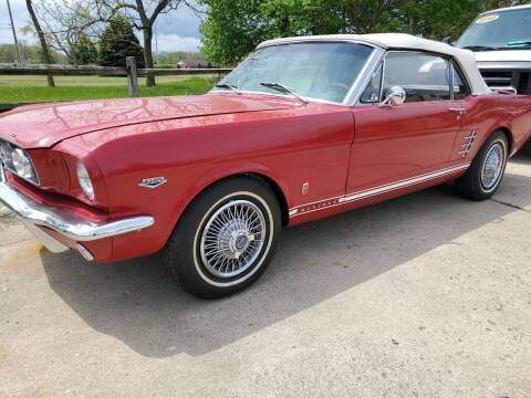 1966 Ford Mustaang for sale at Kachar's Used Cars Inc in Monroe MI