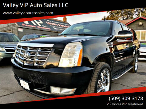 2008 Cadillac Escalade ESV for sale at Valley VIP Auto Sales LLC in Spokane Valley WA