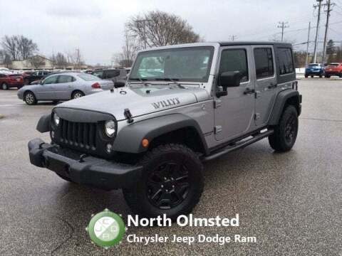 2017 Jeep Wrangler Unlimited for sale at North Olmsted Chrysler Jeep Dodge Ram in North Olmsted OH
