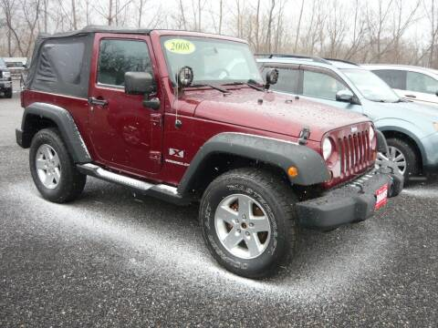 2008 Jeep Wrangler for sale at Shaw's Sales & Service in Wallingford VT