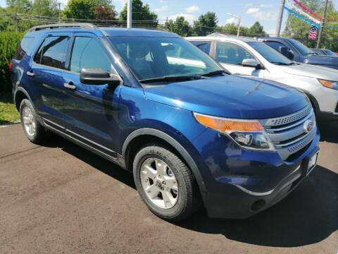 2012 Ford Explorer for sale at KRIS RADIO QUALITY KARS INC in Mansfield OH