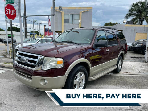 2009 Ford Expedition for sale at Global Auto Sales USA in Miami FL